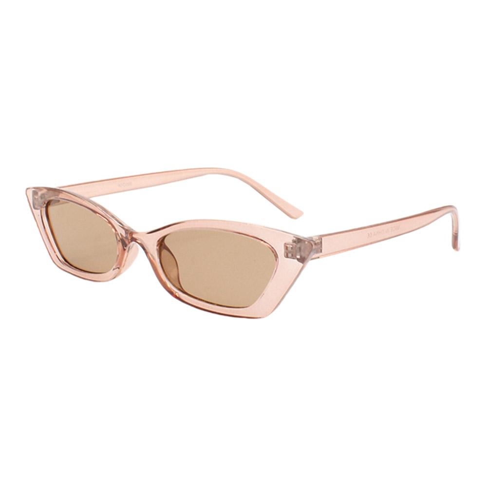 Óculos Solar Feminino NYD068 Rosa e Marrom