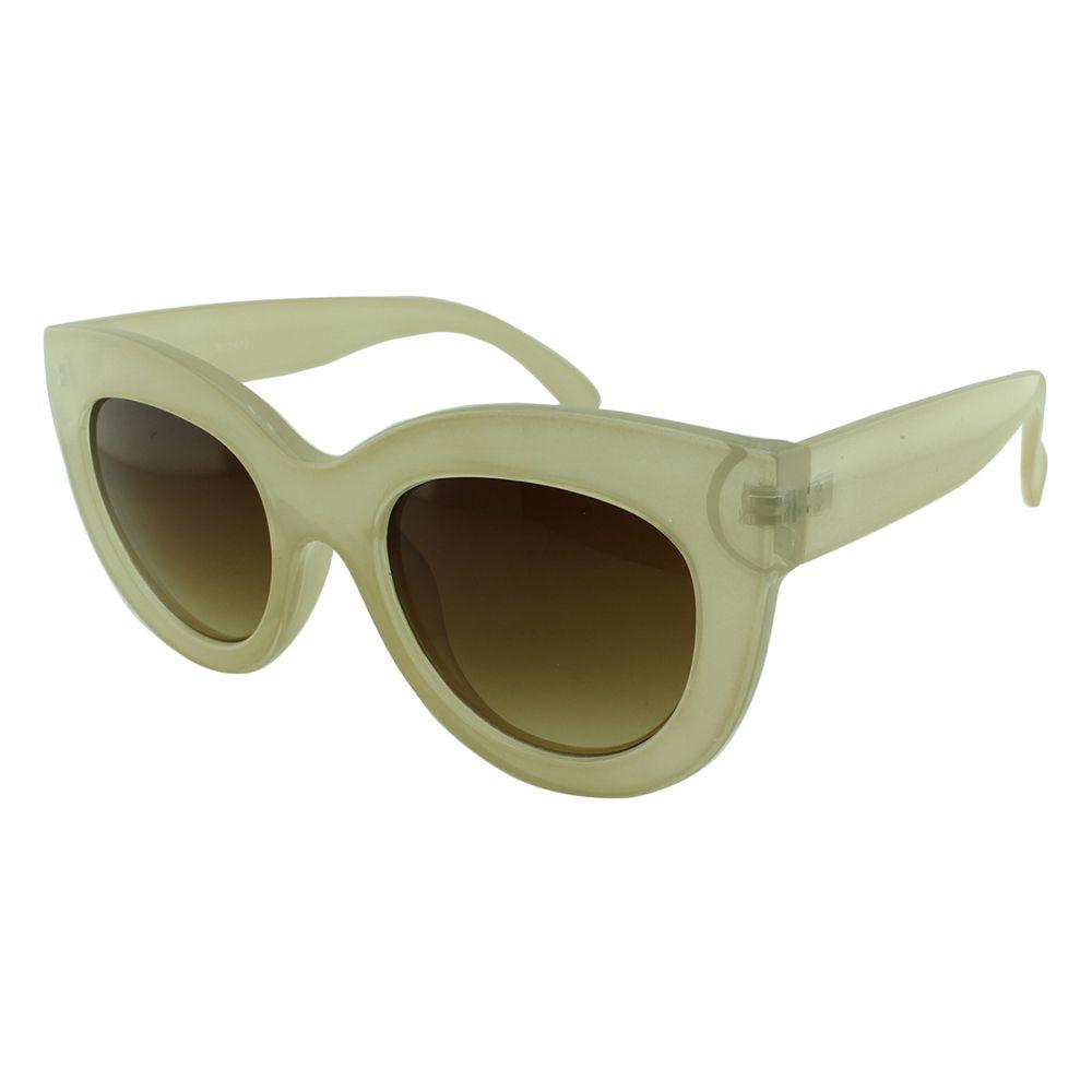 Óculos Solar Feminino NYD072 Bege