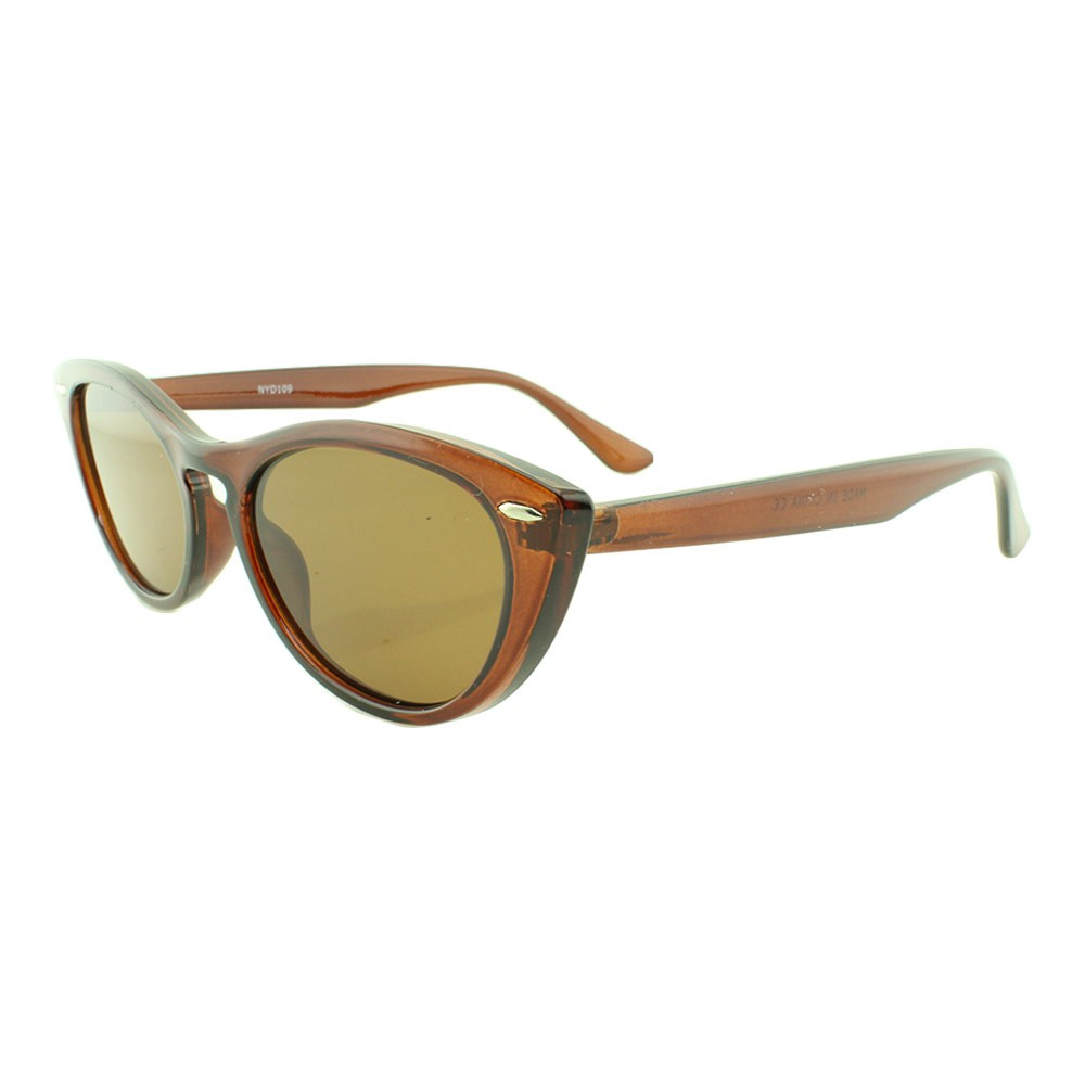 Óculos Solar Feminino NYD109 Marrom