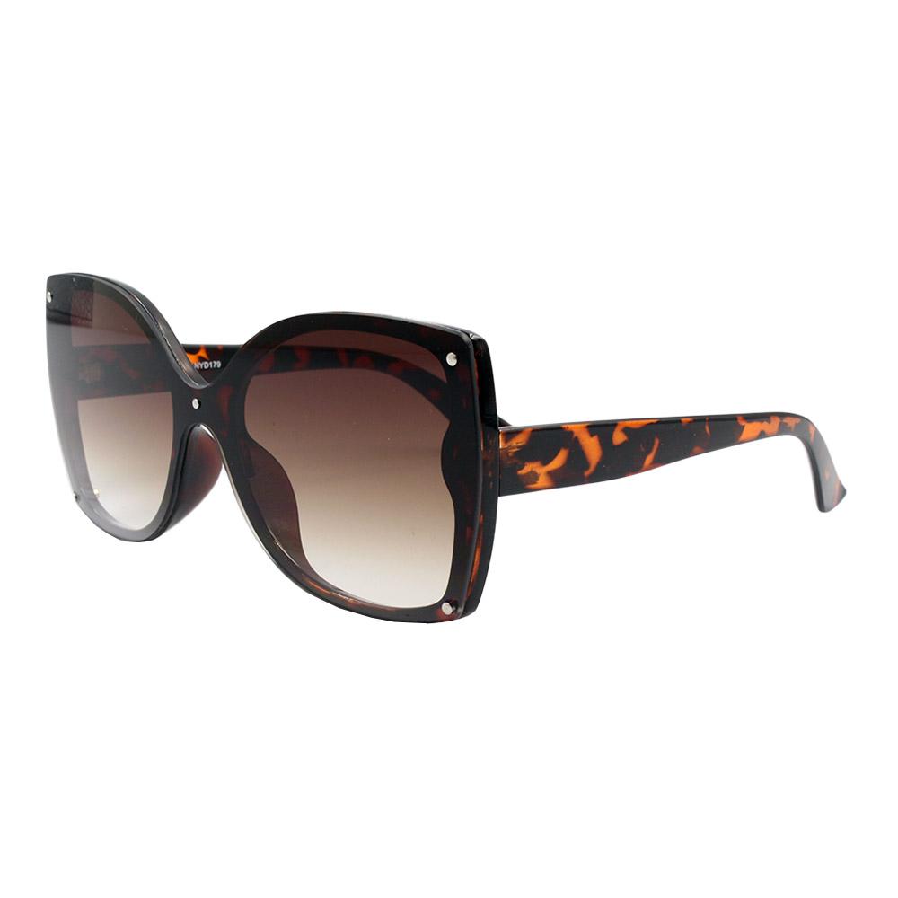 Óculos Solar Feminino NYD179 Marrom Degradê