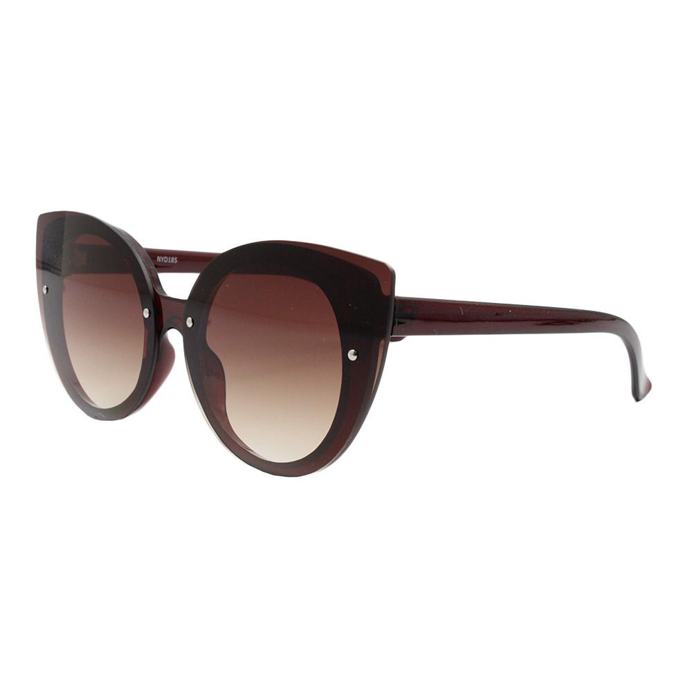 Óculos Solar Feminino NYD185 Marrom