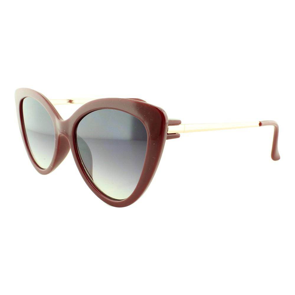 Óculos Solar Feminino Primeira Linha 251 Vinho