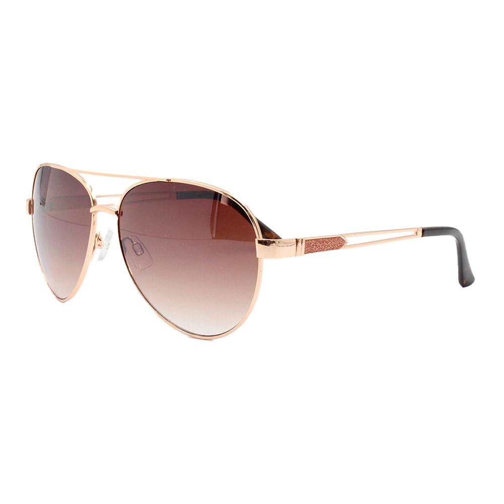 Óculos Solar Feminino Primeira Linha Aviador B88452 Marrom