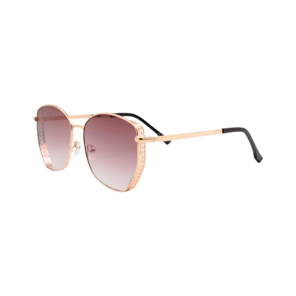Óculos Solar Feminino Primeira Linha FY8191-C1 Dourado e Roxo