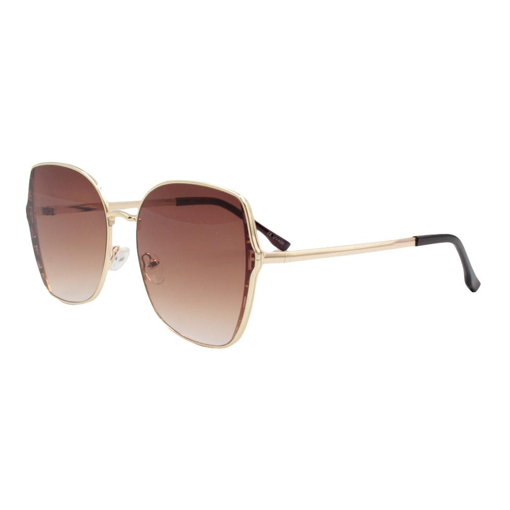 Óculos Solar Feminino Primeira Linha FY8197 Marrom