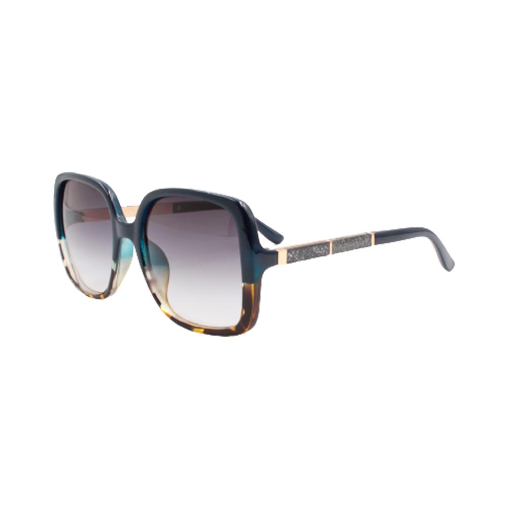 Óculos Solar Feminino Primeira Linha LQ95106 Azul Mesclado