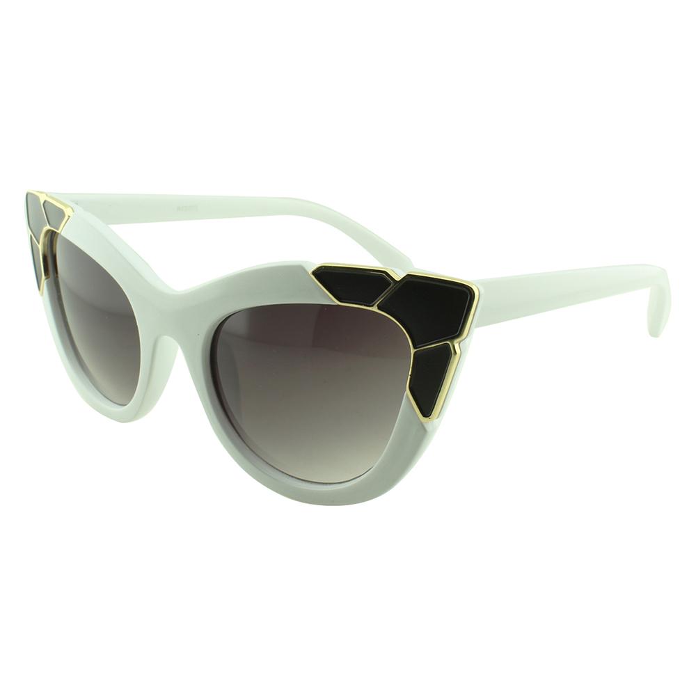 Óculos Solar Feminino Primeira Linha NYD075 Branco