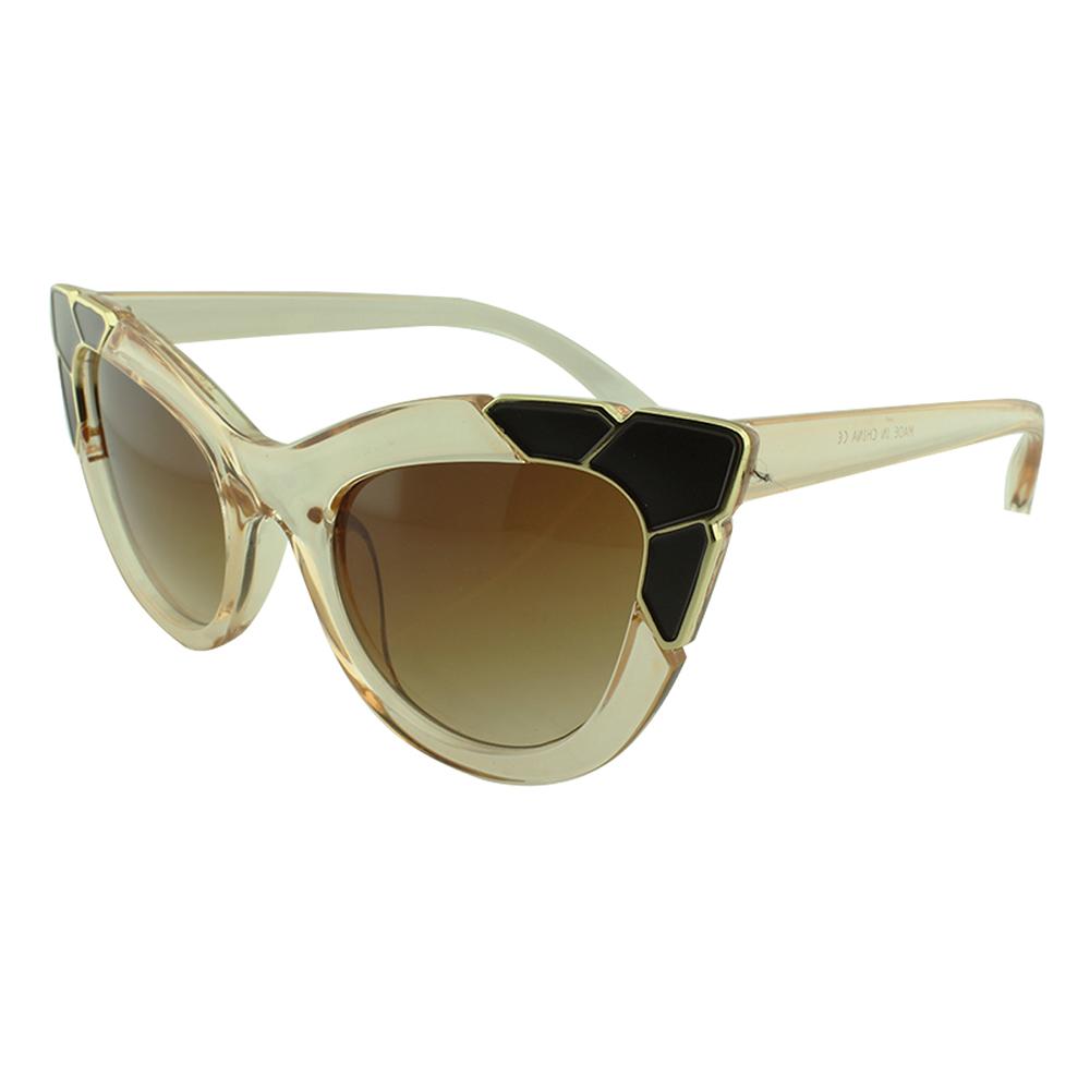 Óculos Solar Feminino Primeira Linha NYD075 Rosé Translúcido