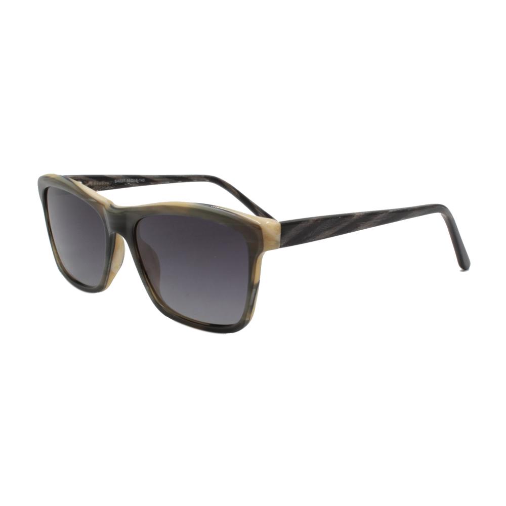 Óculos Solar Feminino Primeira Linha Polarizado BA027-C5 Colorido em Acetato