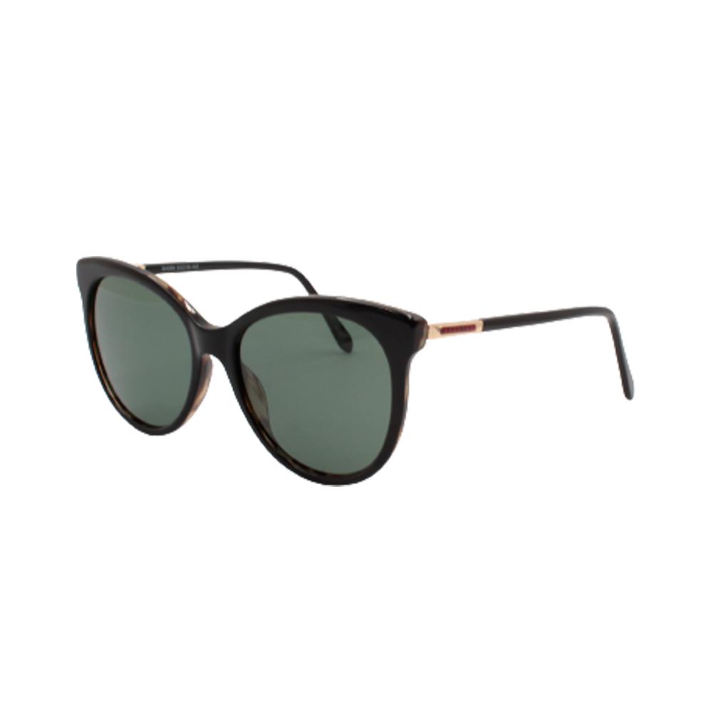 Óculos Solar Feminino Primeira Linha Polarizado BA899-C4 Preto Mesclado em Acetato