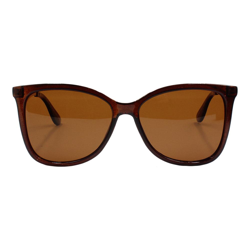 Óculos Solar Feminino Primeira Linha Polarizado KL2017P Marrom Mesclado
