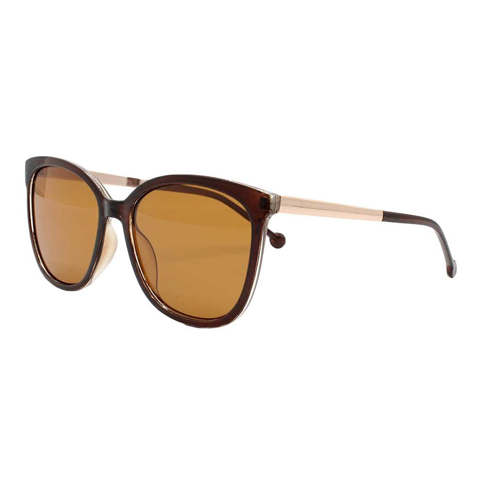 Óculos Solar Feminino Primeira Linha Polarizado KL2022P Marrom