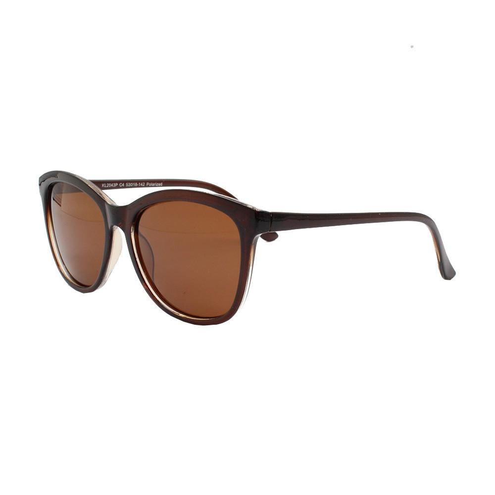 Óculos Solar Feminino Primeira Linha Polarizado KL2043P Marrom