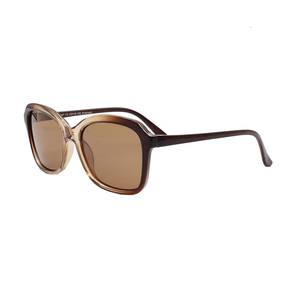Óculos Solar Feminino Primeira Linha Polarizado KL2044P Marrom Gradiente