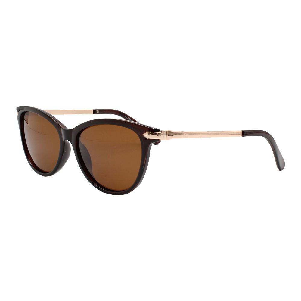 Óculos Solar Feminino Primeira Linha Polarizado KL2045P Marrom