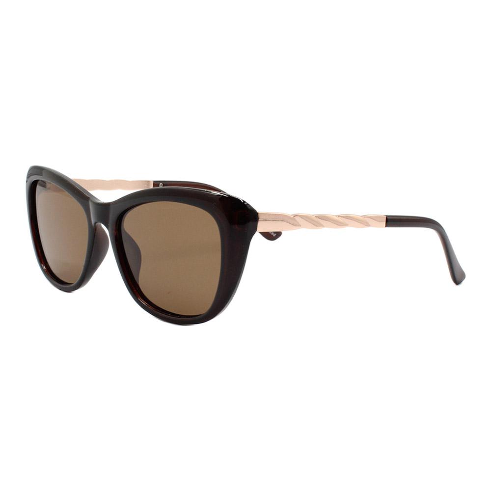 Óculos Solar Feminino Primeira Linha Polarizado KL2047P Marrom