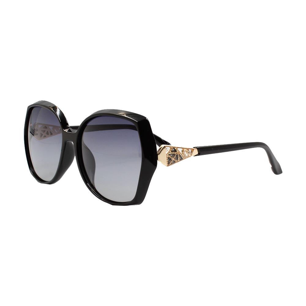 Óculos Solar Feminino Primeira Linha Polarizado PJ1051 Preto