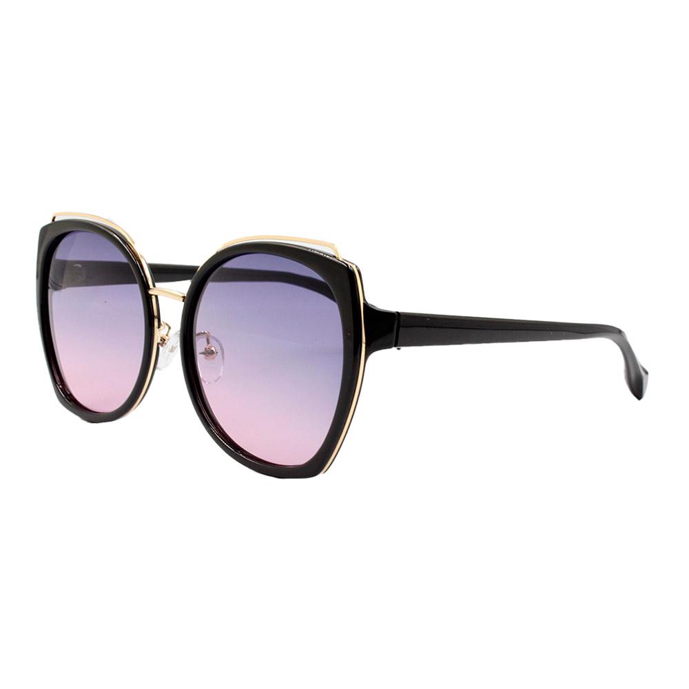 Óculos Solar Feminino Primeira Linha Polarizado PJ1060 Preto Colorido