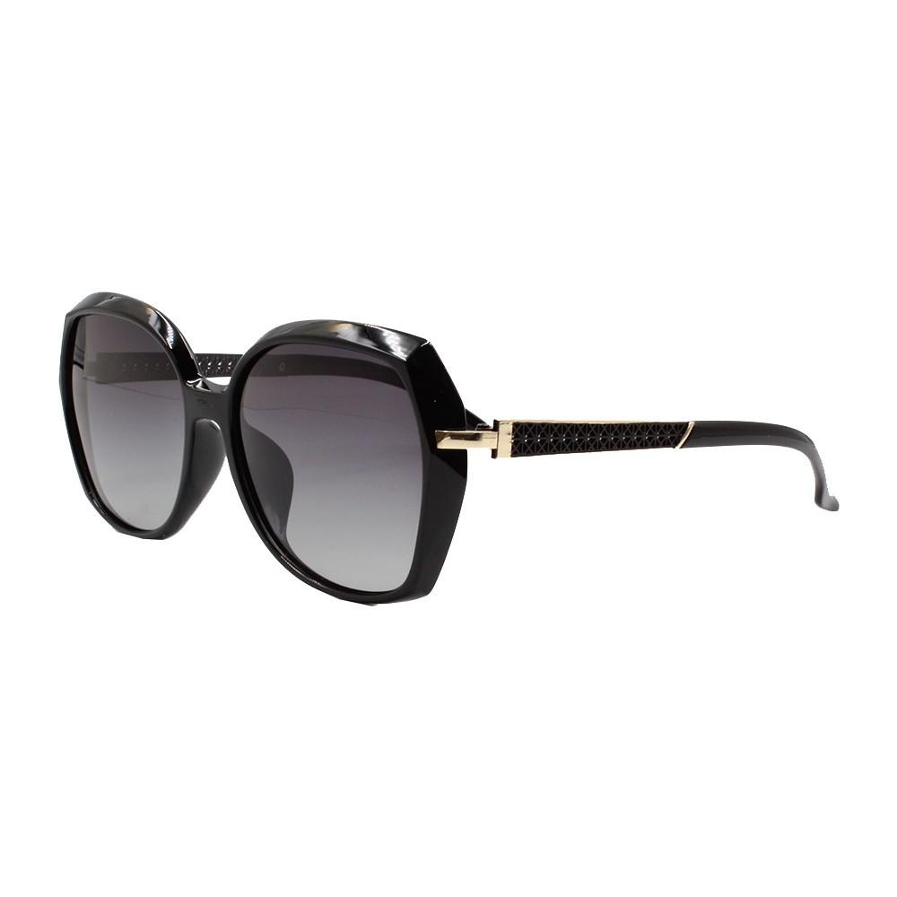 Óculos Solar Feminino Primeira Linha Polarizado PJ2007 Preto