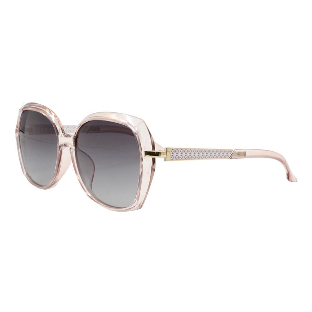 Óculos Solar Feminino Primeira Linha Polarizado PJ2007 Rosa e Preto