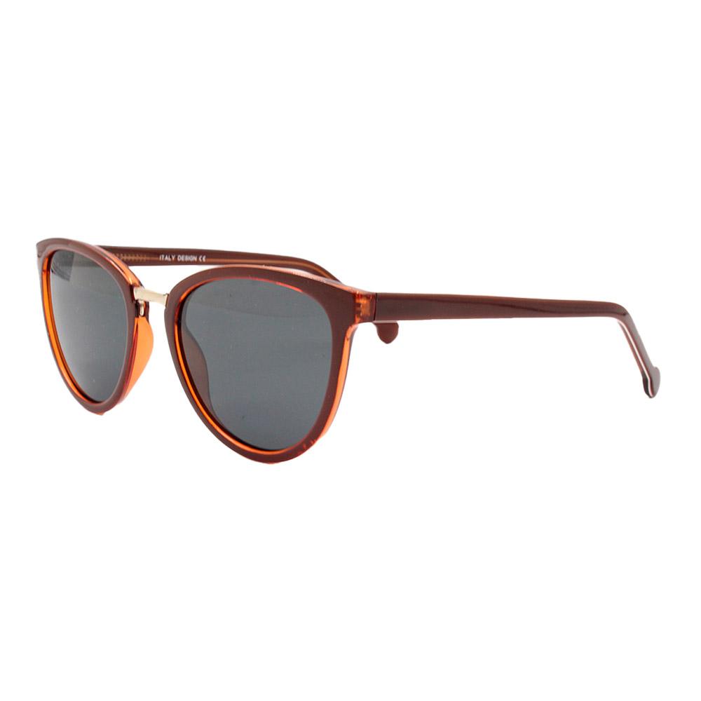 Óculos Solar Feminino Primeira Linha Polarizado SJ0240 Marrom