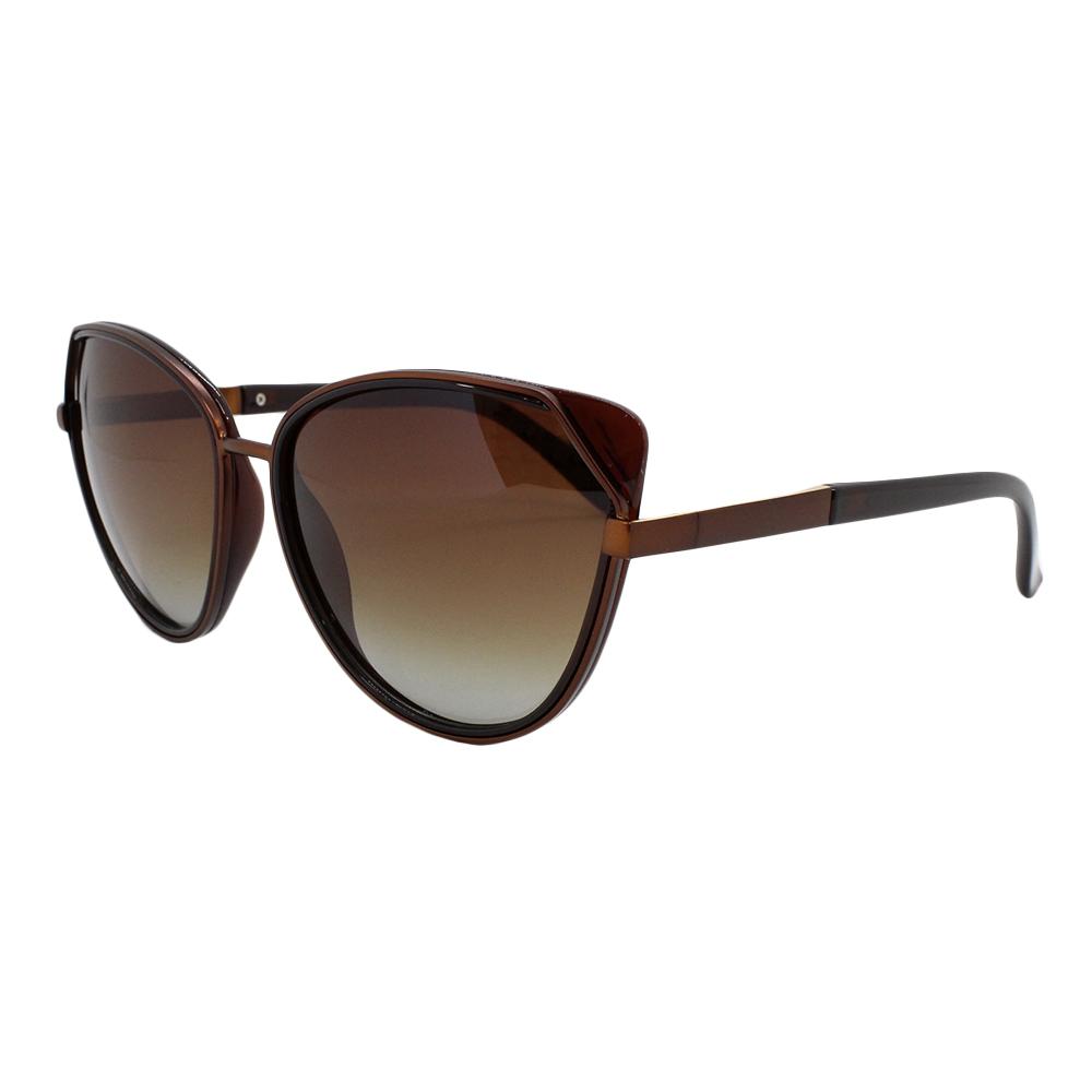 Óculos Solar Feminino Primeira Linha Polarizado TP21060 Marrom