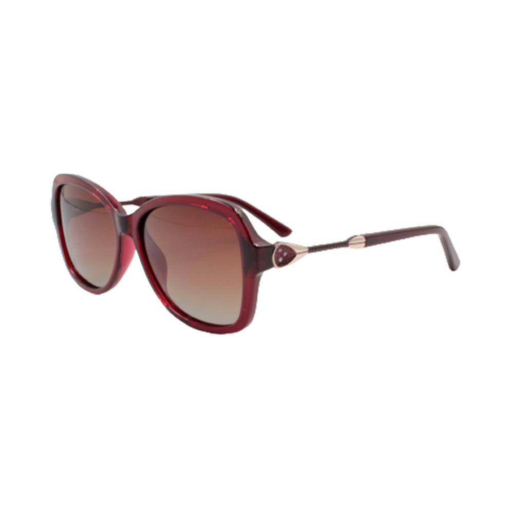 Óculos Solar Feminino Primeira Linha Polarizado TSH7081-C3 Vinho