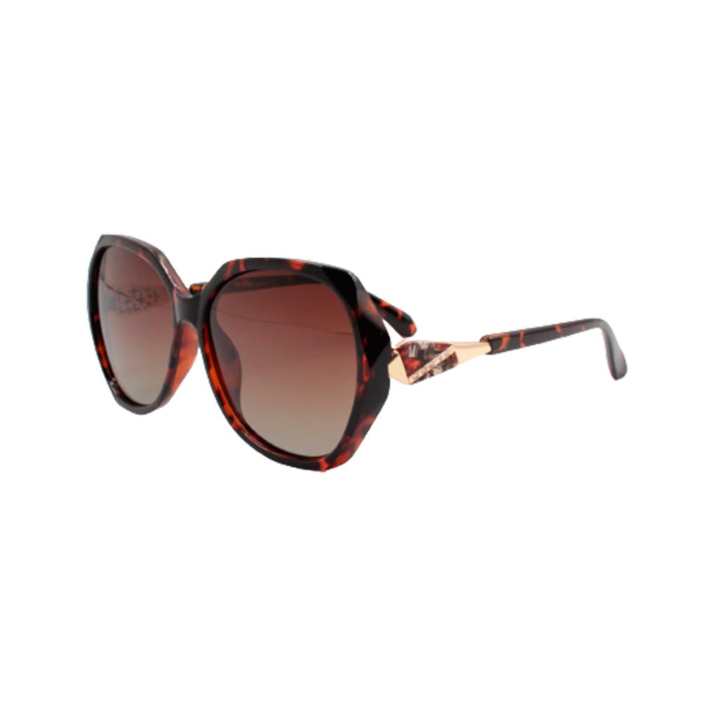 Óculos Solar Feminino Primeira Linha Polarizado TSH7083-C2 Marrom Mesclado
