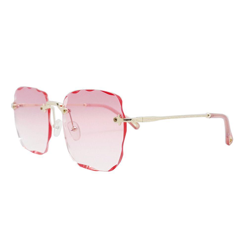Óculos Solar Feminino Primeira Linha S31272 Rosa Degradê