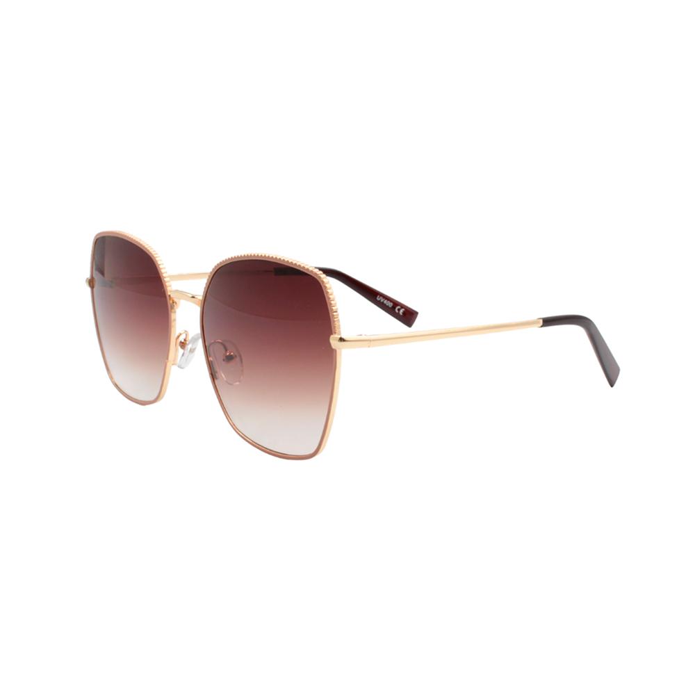 Óculos Solar Feminino Primeira Linha YC3290 Dourado e Nude