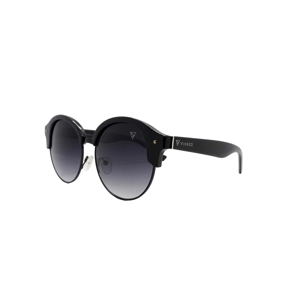 Óculos Solar Feminino S1816 Preto Vianzo com Estojo