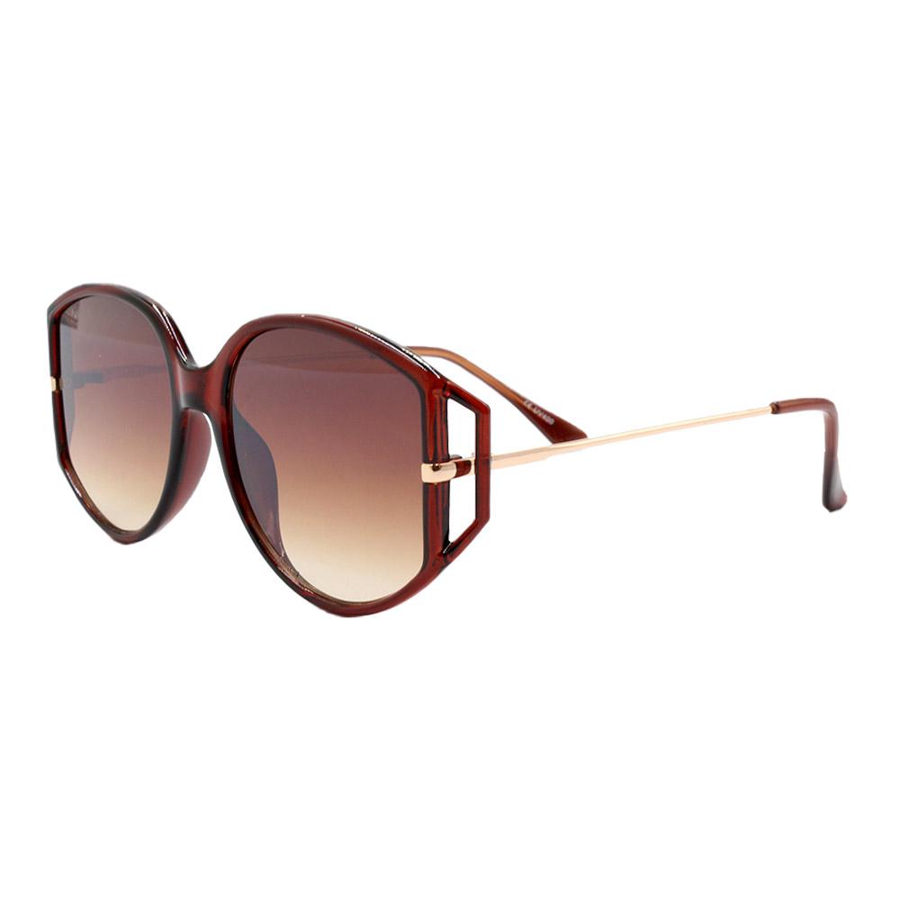 Óculos Solar Feminino YD2034 Marrom