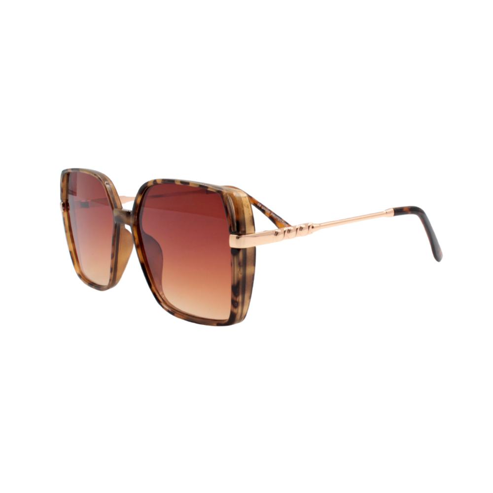 Óculos Solar Feminino YD2058 Marrom Mesclado