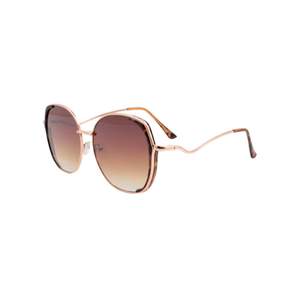 Óculos Solar Feminino YD2059-C3 Marrom Mesclado
