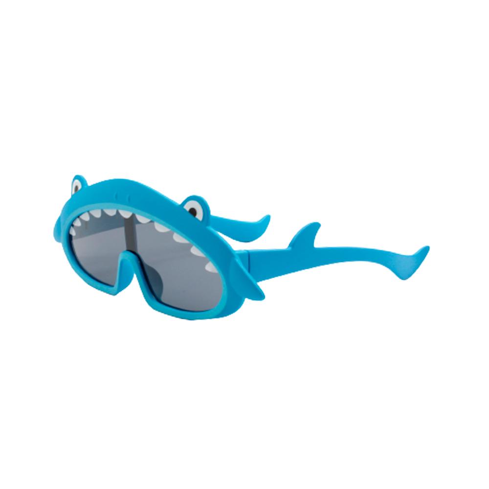 Óculos Solar Infantil Polarizado em Nylon Flexível BT22013-C9 Azul