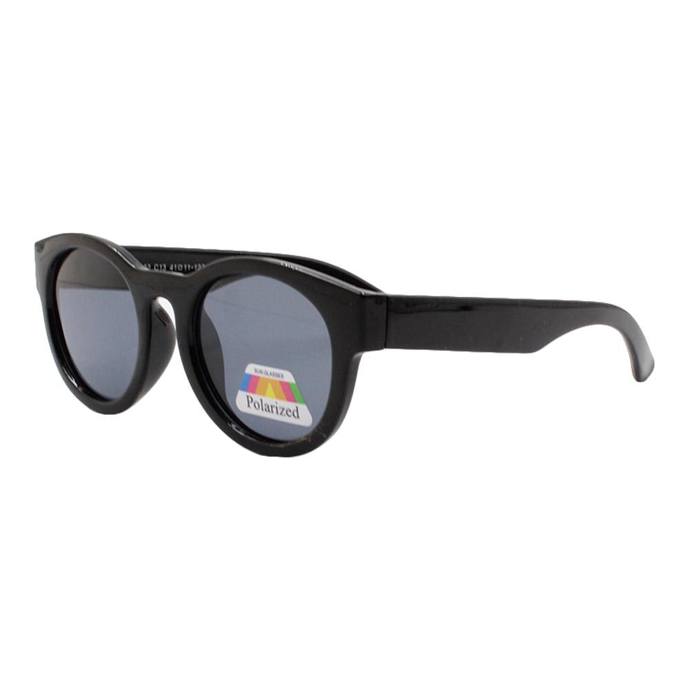 Óculos Solar Infantil Polarizado em Nylon Flexível CT11002 Preto