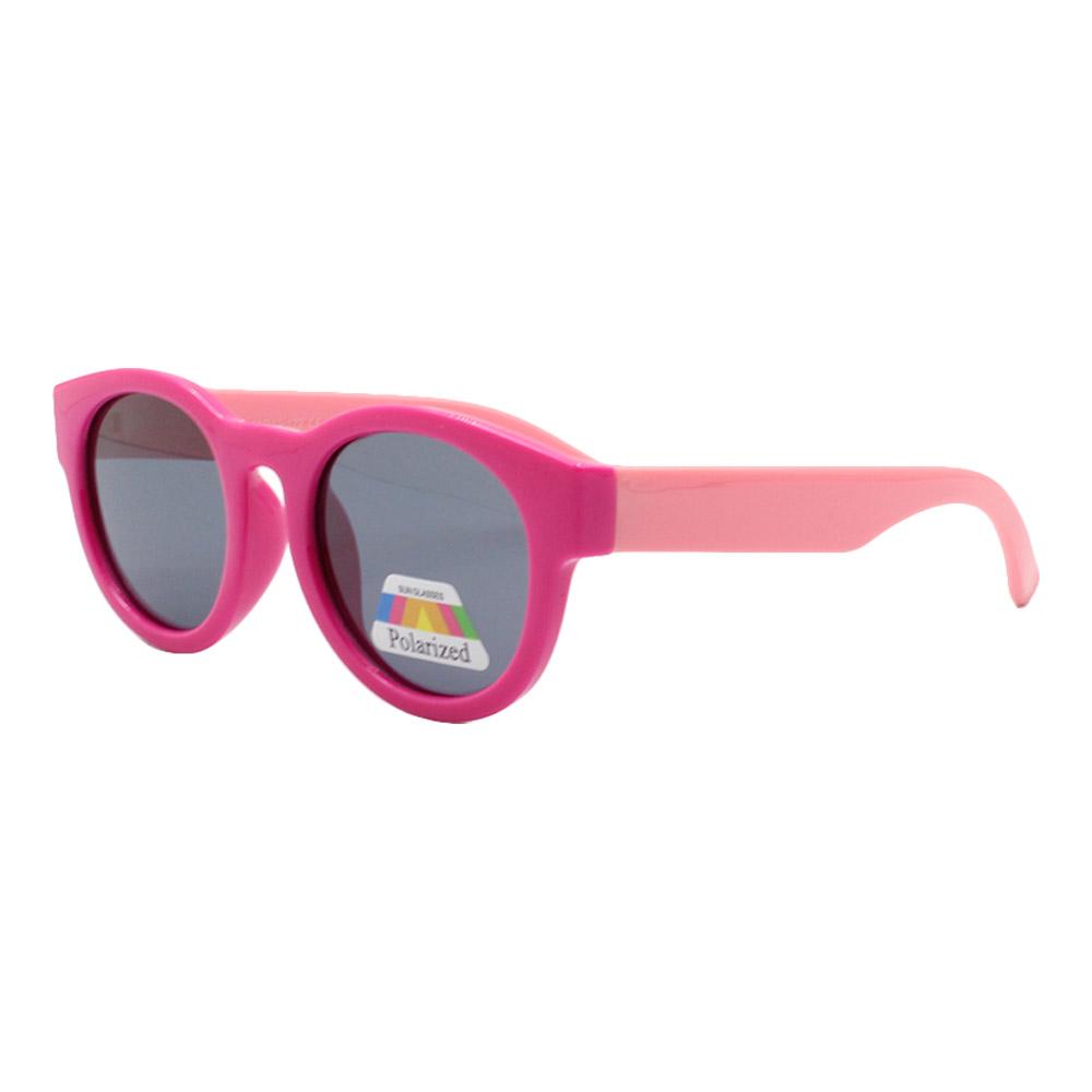 Óculos Solar Infantil Polarizado em Nylon Flexível CT11002 Rosa