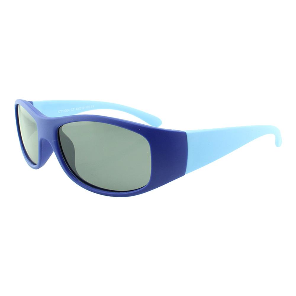 Óculos Solar Infantil Polarizado em Nylon Flexível CT11004 Azul