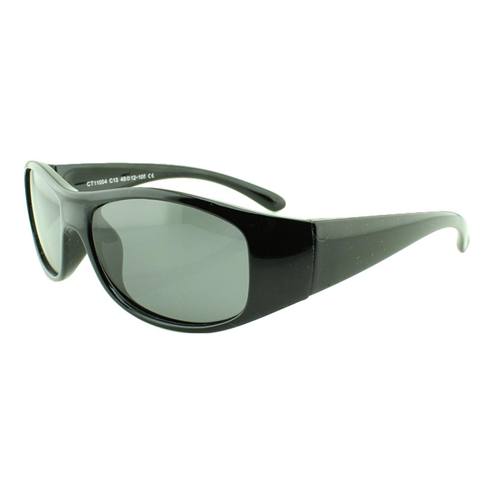 Óculos Solar Infantil Polarizado em Nylon Flexível CT11004 Preto