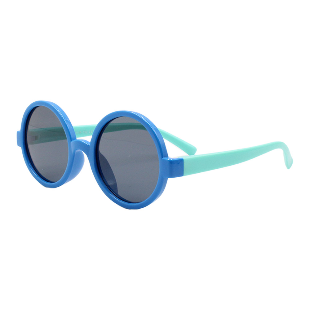 Óculos Solar Infantil Polarizado em Nylon Flexível CT11021 Azul
