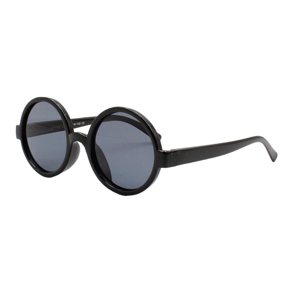 Óculos Solar Infantil Polarizado em Nylon Flexível CT11021 Preto