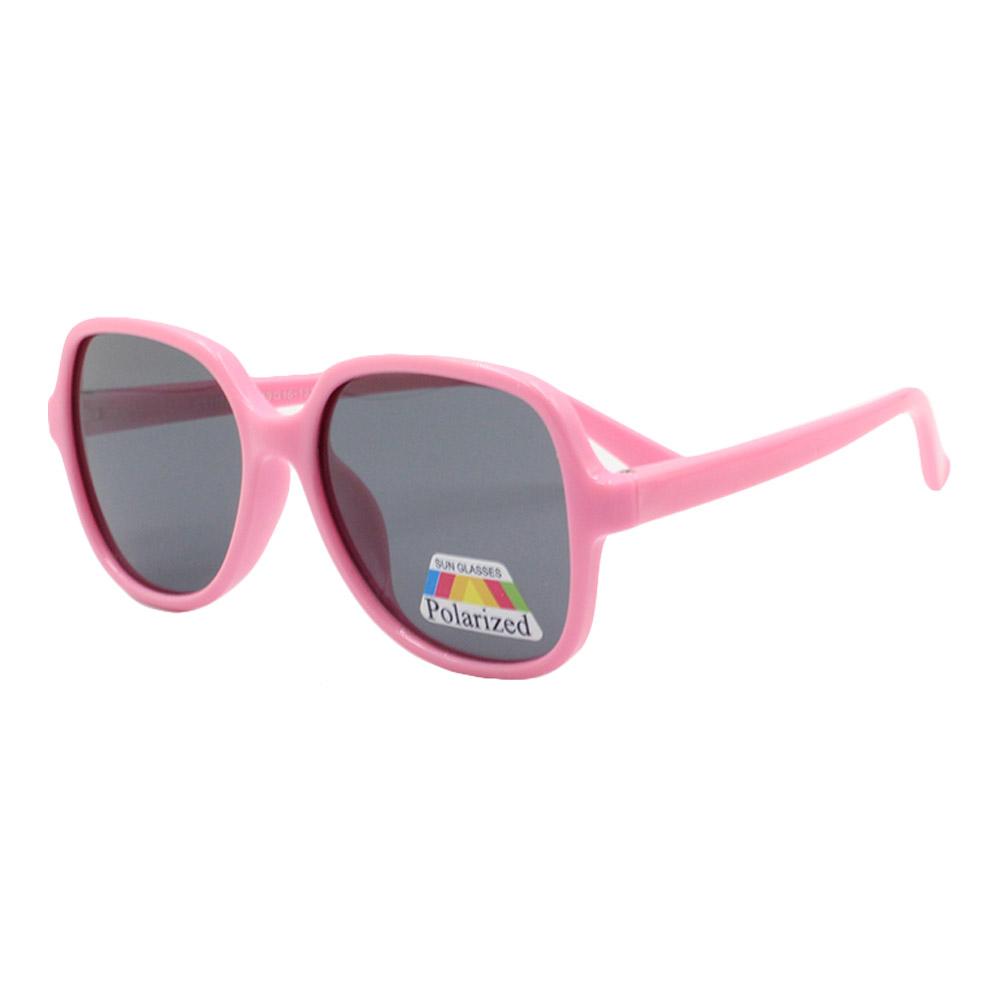 Óculos Solar Infantil Polarizado em Nylon Flexível CT11022 Rosa