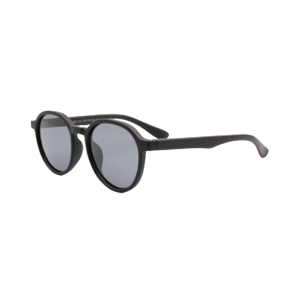 Óculos Solar Infantil Polarizado em Nylon Flexível CT11036-C14 Preto Fosco