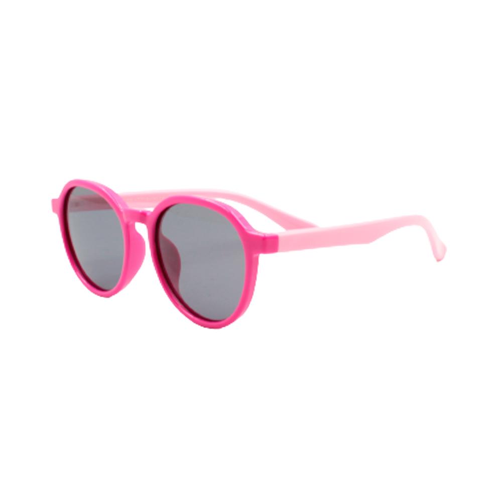 Óculos Solar Infantil Polarizado em Nylon Flexível CT11036-C5 Rosa