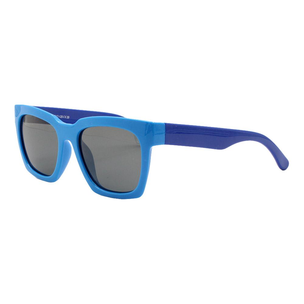 Óculos Solar Infantil Polarizado em Nylon Flexível S8135 Azul