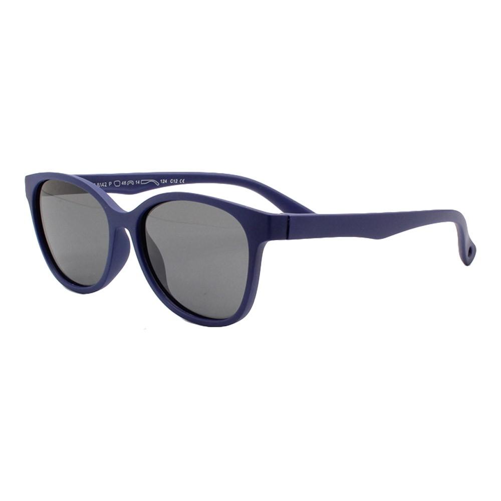 Óculos Solar Infantil Polarizado em Nylon Flexível S8142 Azul