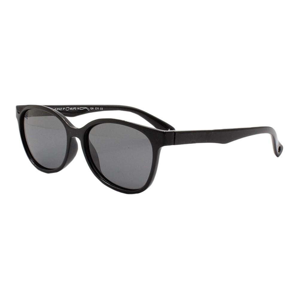 Óculos Solar Infantil Polarizado em Nylon Flexível S8142 Preto