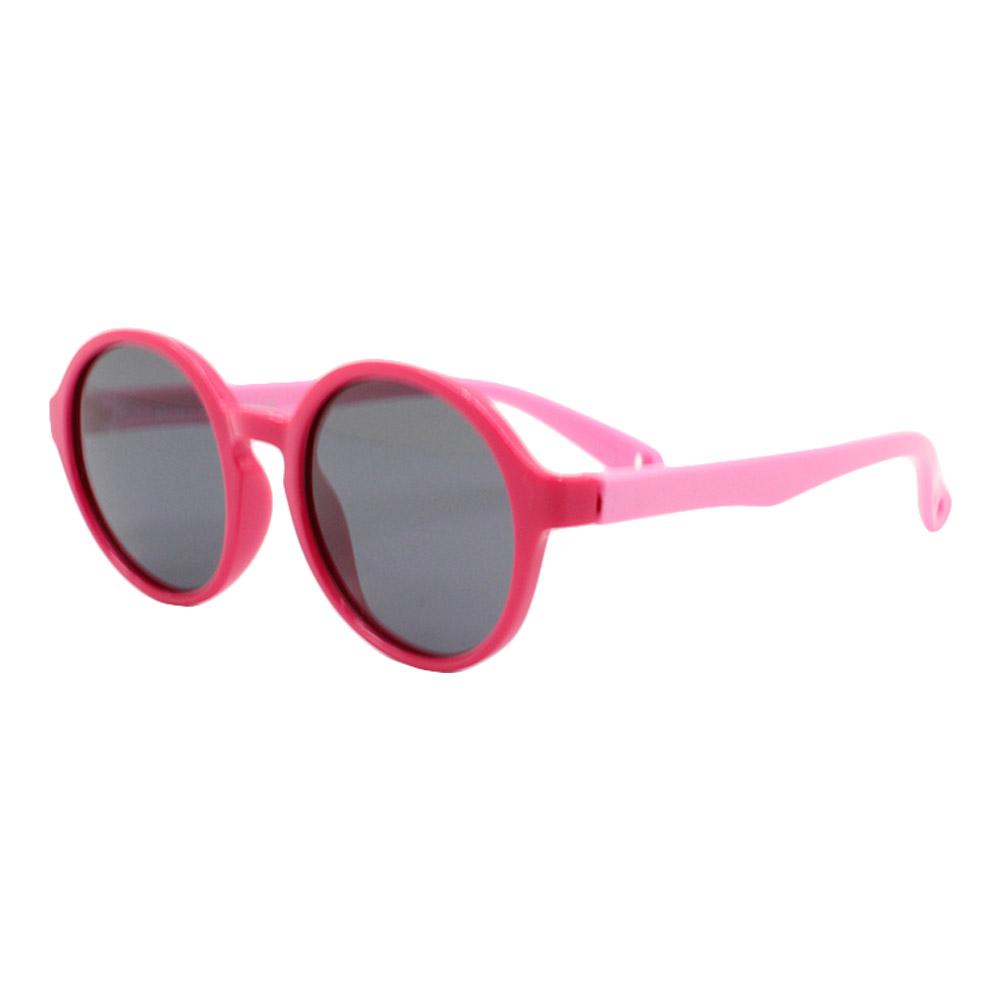 Óculos Solar Infantil Polarizado em Nylon Flexível S8143 Rosa