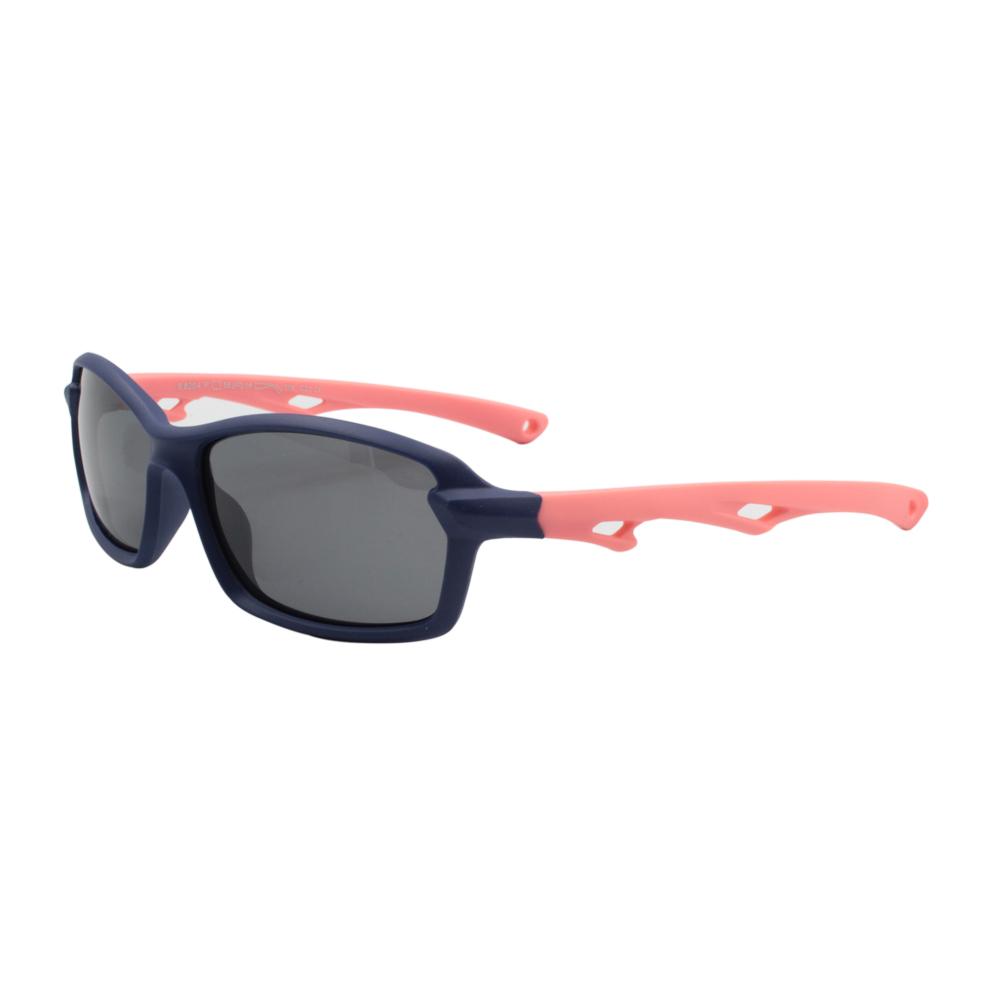 Óculos Solar Infantil Polarizado em Nylon Flexível S8204-C21 Azul e Rosa