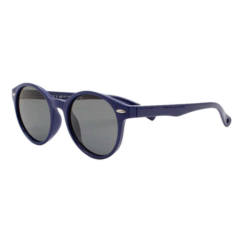Óculos Solar Infantil Polarizado em Nylon Flexível S8217 Azul